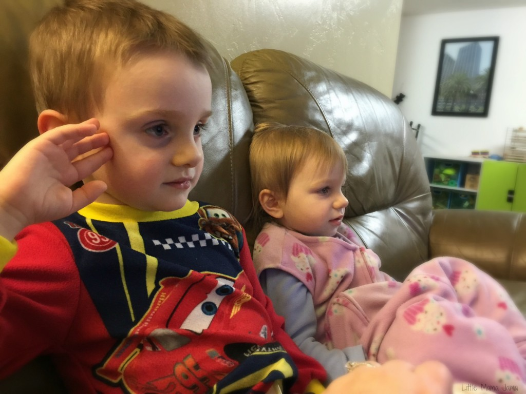Quiet sibling moments #LittleMamaJama