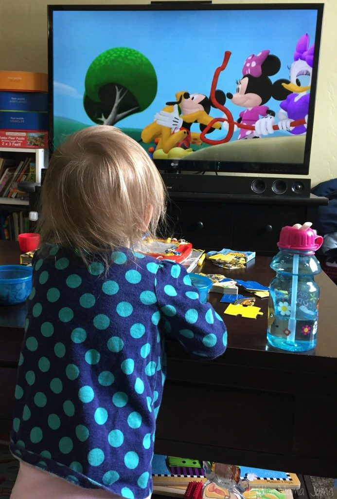 Baby Jo loves Mickey Mouse Clubhouse #DisneySide