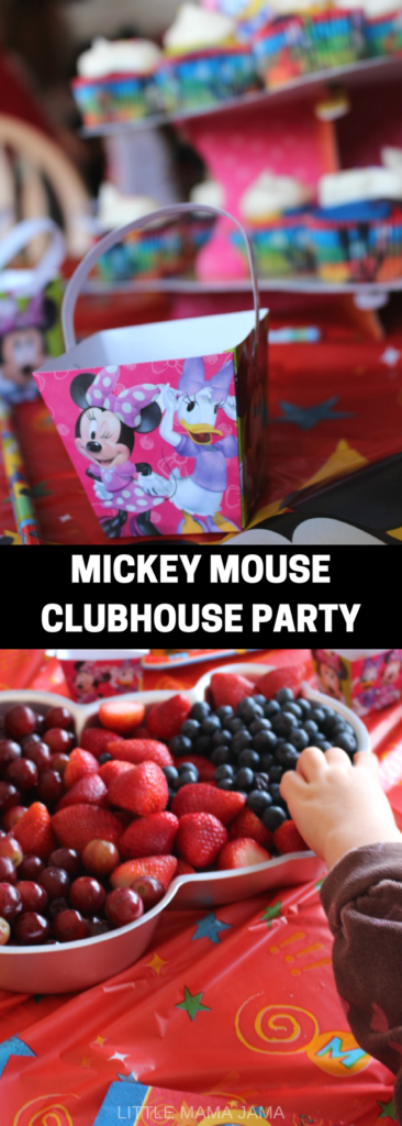 Host a Mickey Mouse Clubhouse Party for your preschoolers! #ad