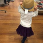 (Kinda) Wordless Wednesday: Shopping Day with Baby Jo