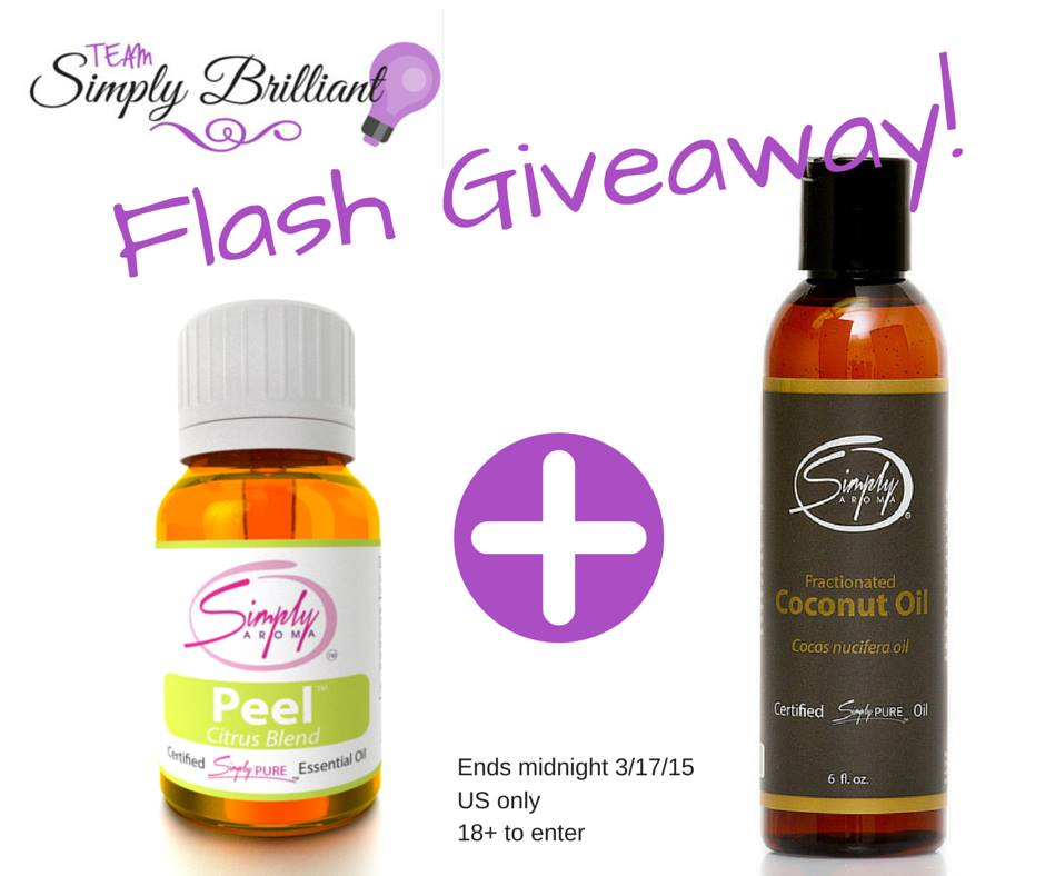 Team Simply Brilliant March Flash Giveaway