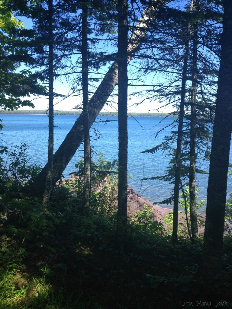 Hike at Big Bay State Park