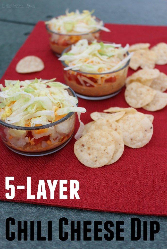 5-Layer Chili Cheese Dip