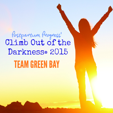 Climb Out of the Darkness 2015 Team Green Bay