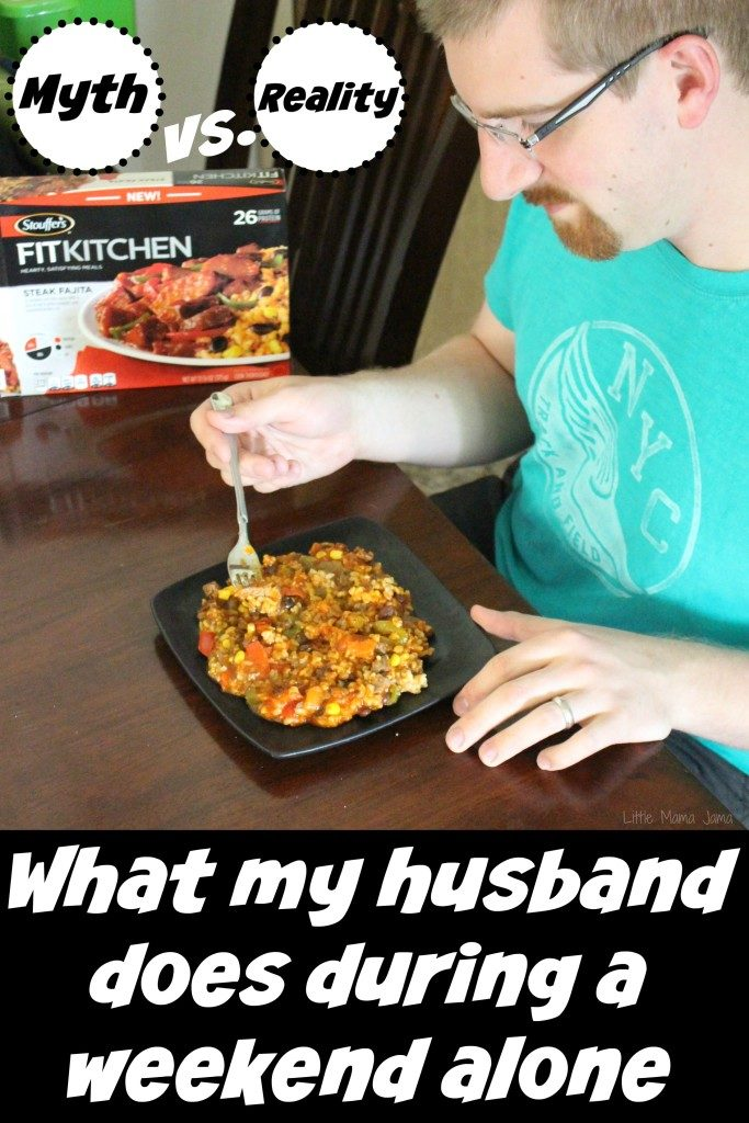Myth vs Reality: What my husband does during a weekend alone #FlavorYourSummer #ad