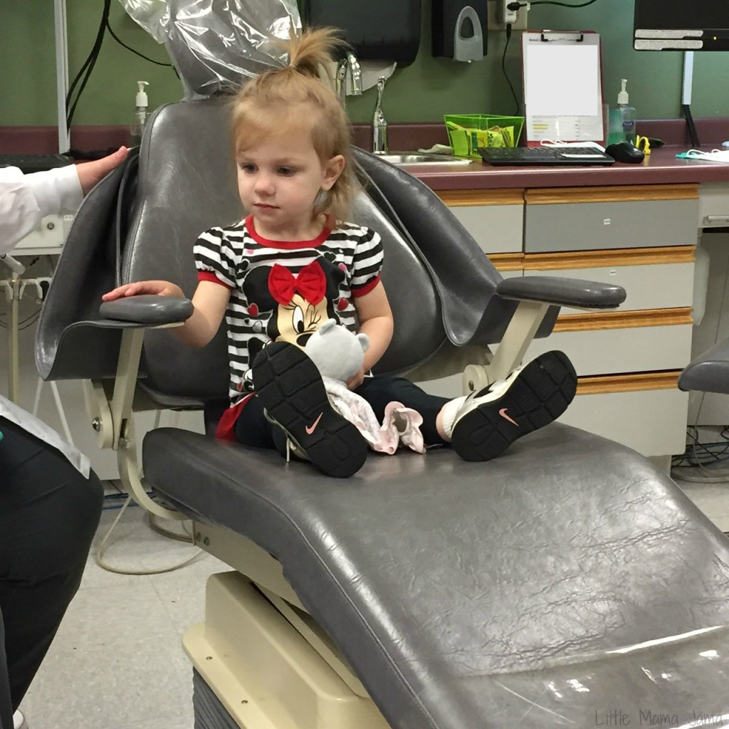 Baby Jo at the Dentist