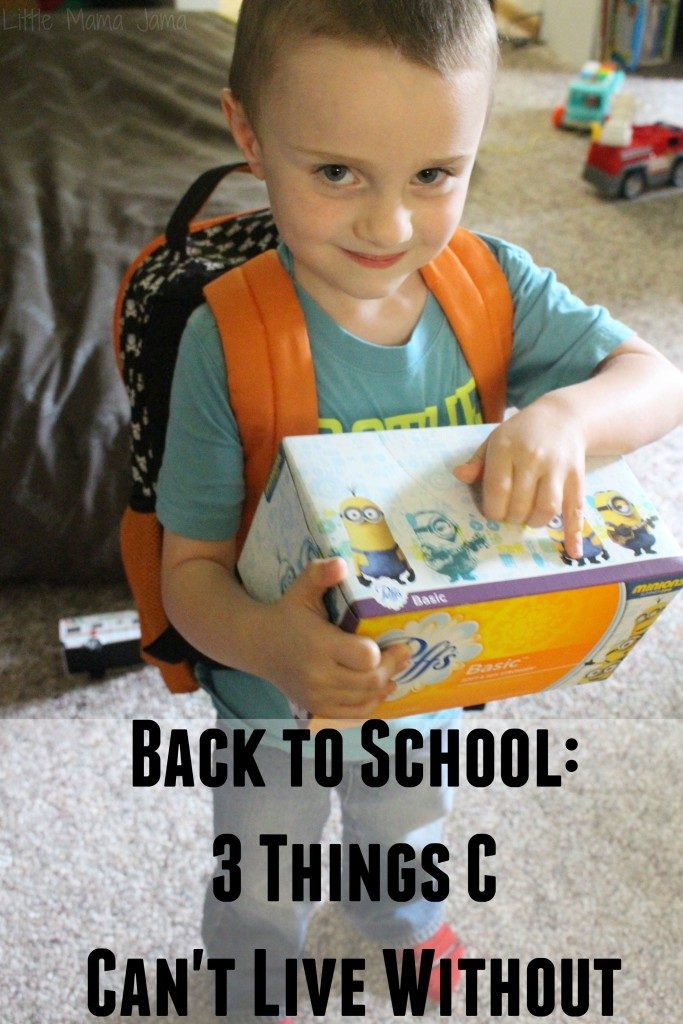 Back to School: 3 Things C Can't Live Without #PassThePuffs #BackToSchool {ad}