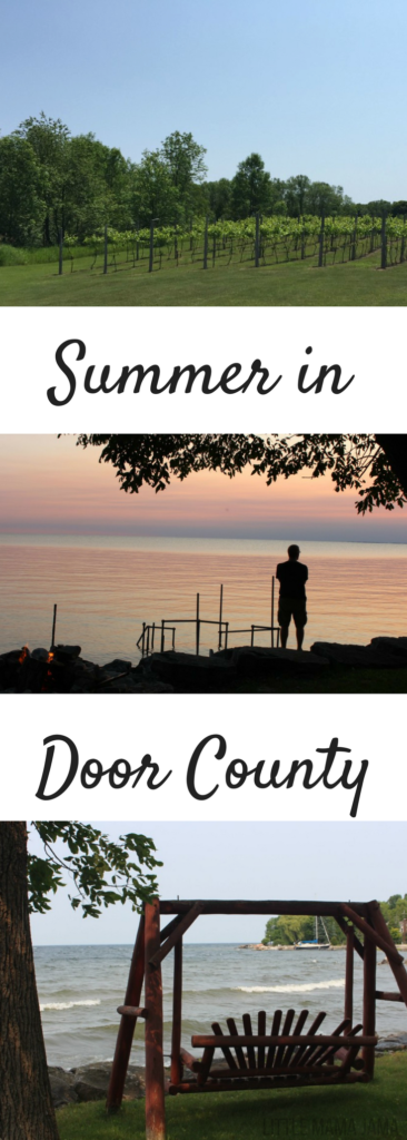 Spend summer in Door County! Rent a cottage, visit a winery, take a trolley tour and stop at Door County Coffee!