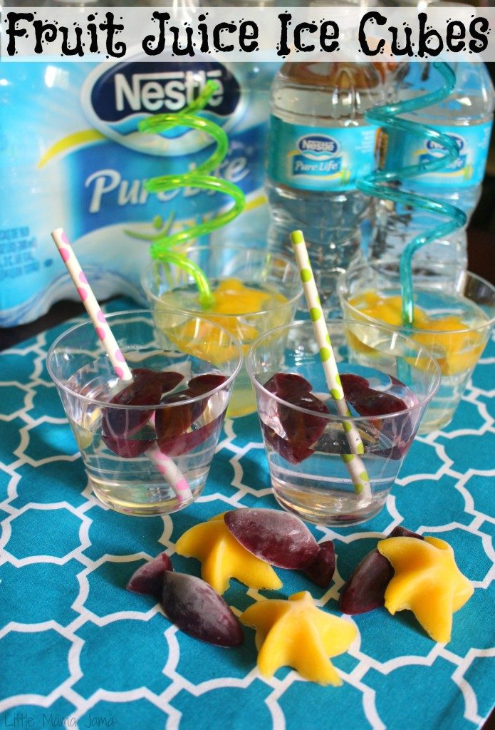 Fruit Juice Ice Cubes #PureLifeRippleEffect #ad
