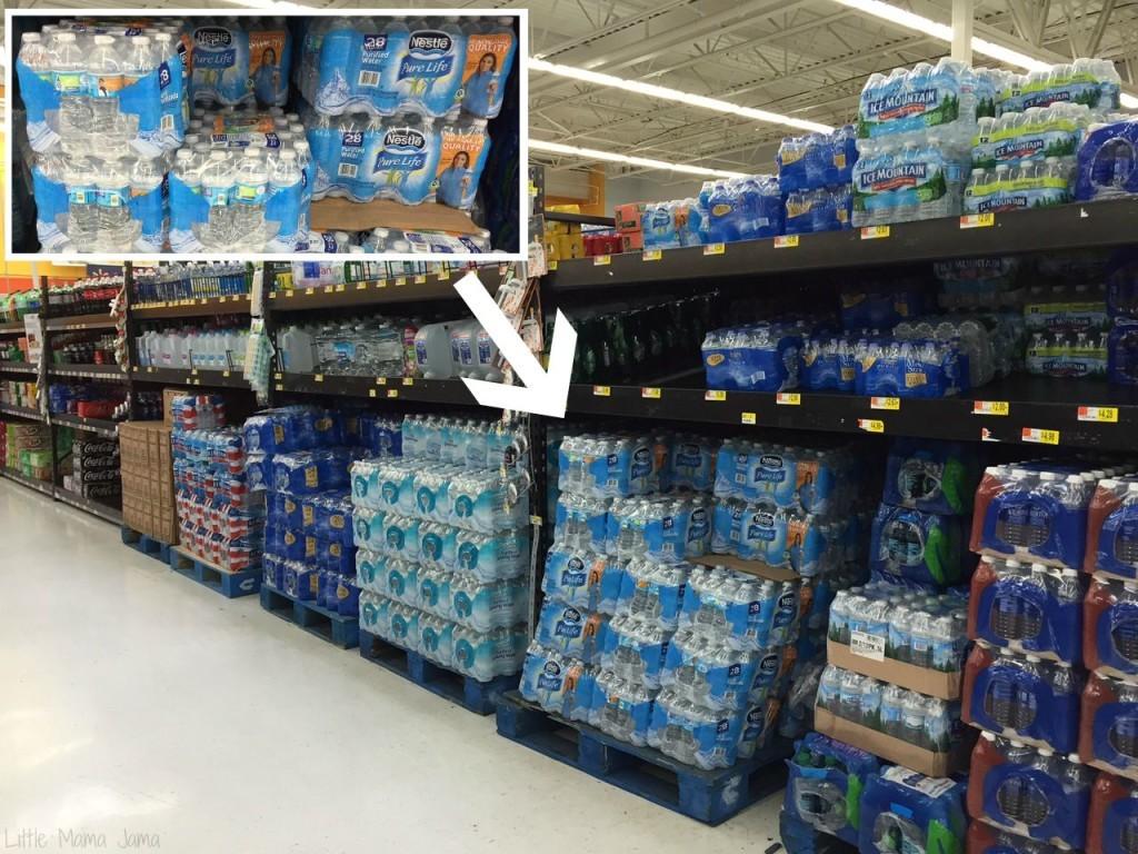 Nestle Pure Life Water at Walmart #PureLifeRippleEffect #ad