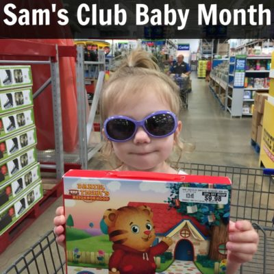 Score Cool Deals at Sam's Club Baby Month {+ Giveaway!}