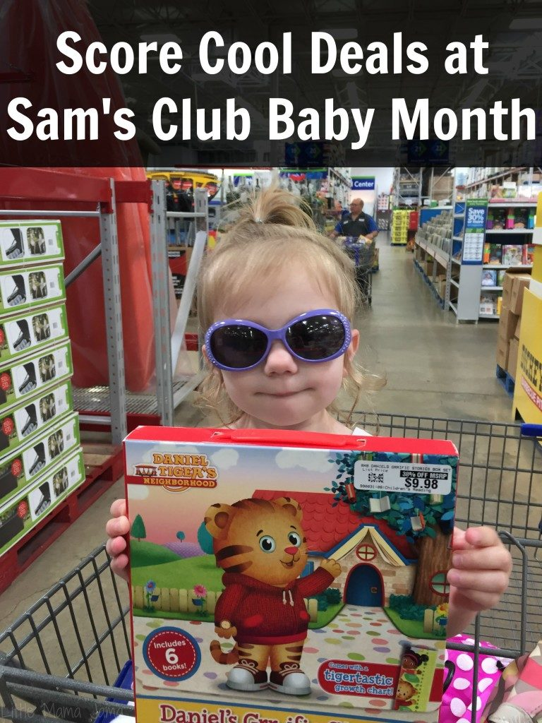 Score Cool Deals at Sam's Club Baby Month