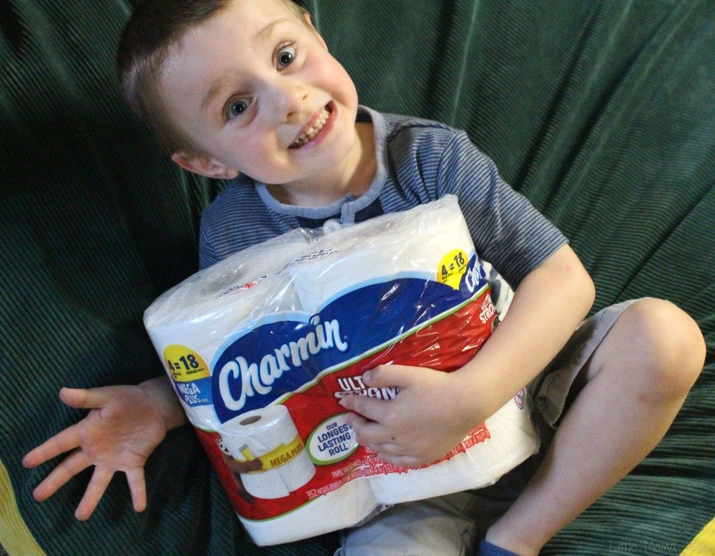 Teaching Kids to Stay Clean with Charmin Ultra Strong