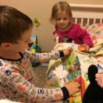 "(Kinda) Wordless Wednesday: Bubby ""Reads"" a Bedtime Story"