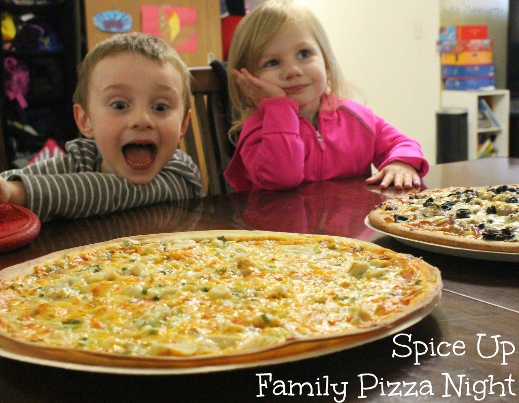 Spice Up Family Pizza Night #SpiceYourSlice #ad
