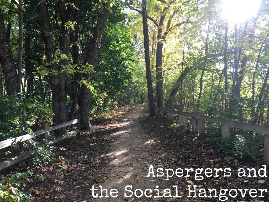 Aspergers and the Social Hangover