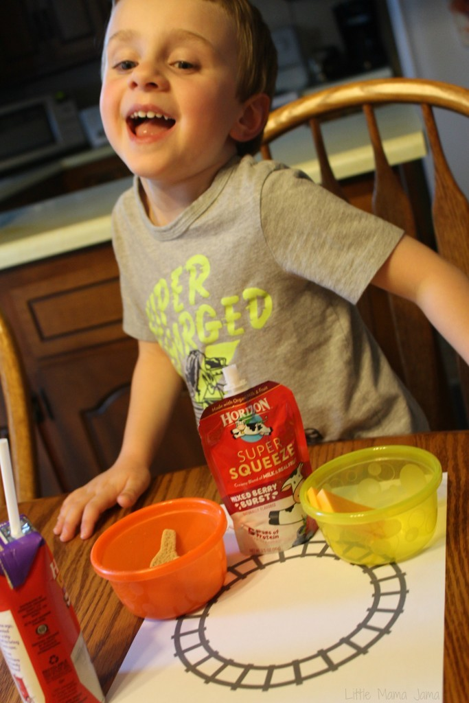 C and The Lunch Train #HorizonLunch [ad]