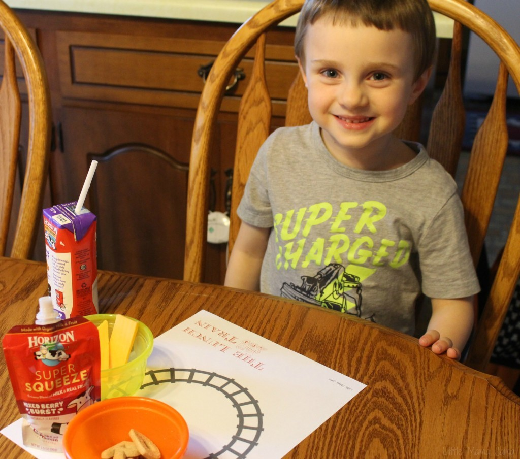 My son loves The Lunch Train [ad]