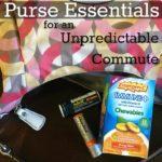 Purse Essentials for an Unpredictable Commute