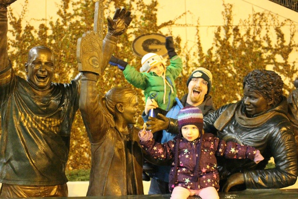 Lambeau Leap to celebrate big changes for our family
