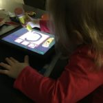 (Kinda) Wordless Wednesday: Learning to Write Letters