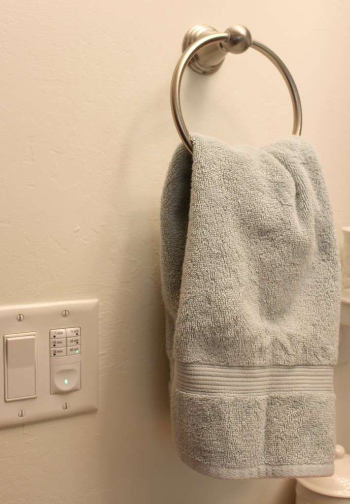 Replace hand towels for guests #EnjoyTheGo #ad