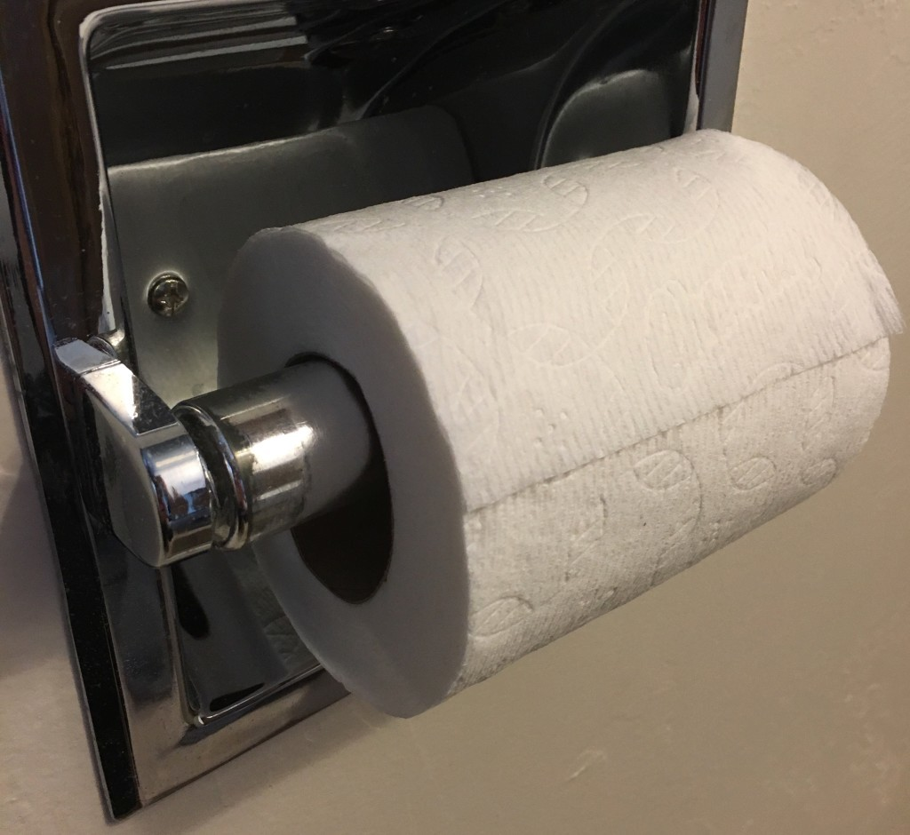 Charmin Mega Roll lasts
