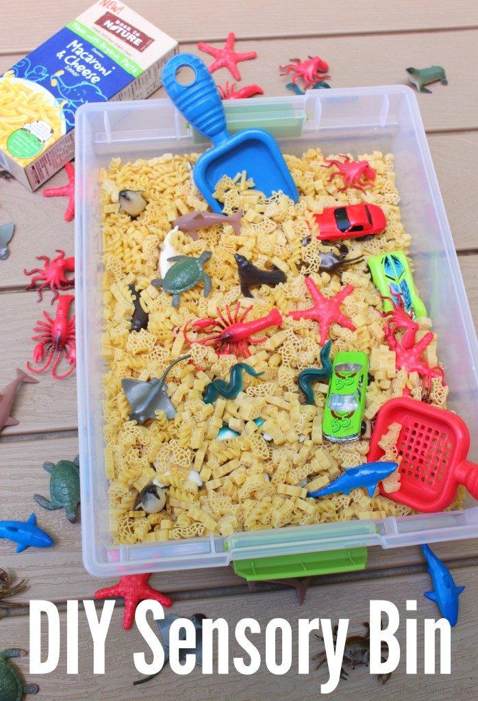 DIY Sensory Bin for Feeding Creativity