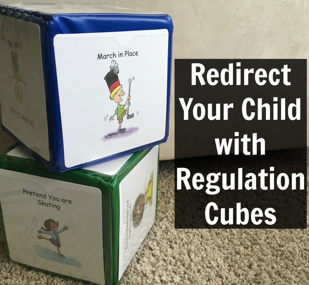 Redirect Your Child With Regulation Cubes