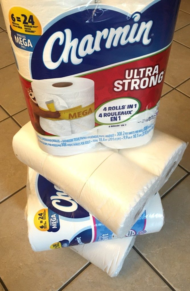 Stock up on Charmin for guests