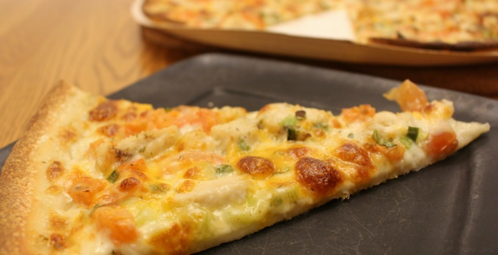 Gourmet Chicken Garlic Papa Murphy's #NothingButChicken #ad