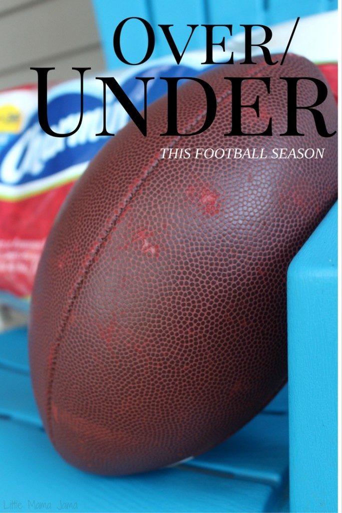 Over/Under This Football Season