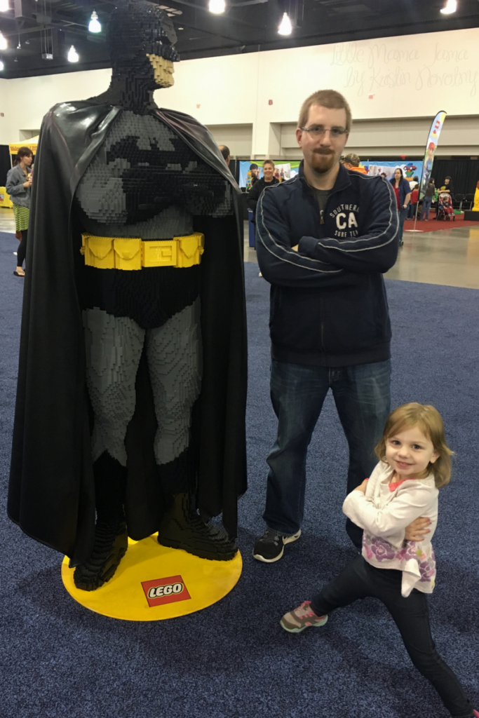 Batman at LEGO KidsFest
