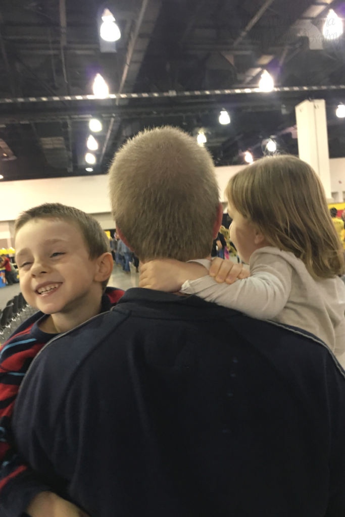 Kids loved LEGO KidsFest