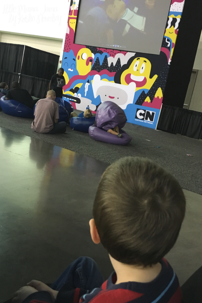 Sensory Break at LEGO KidsFest