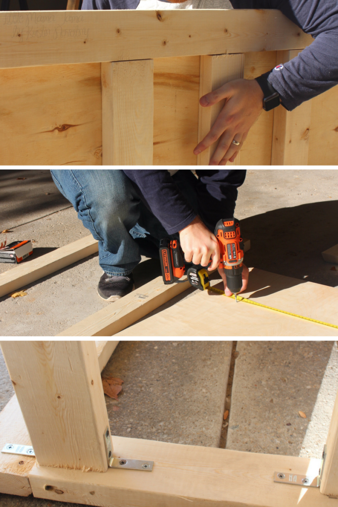 Here's a tutorial to build a wooden ramp for kids to race their cars! #RaceDayRelief #ad