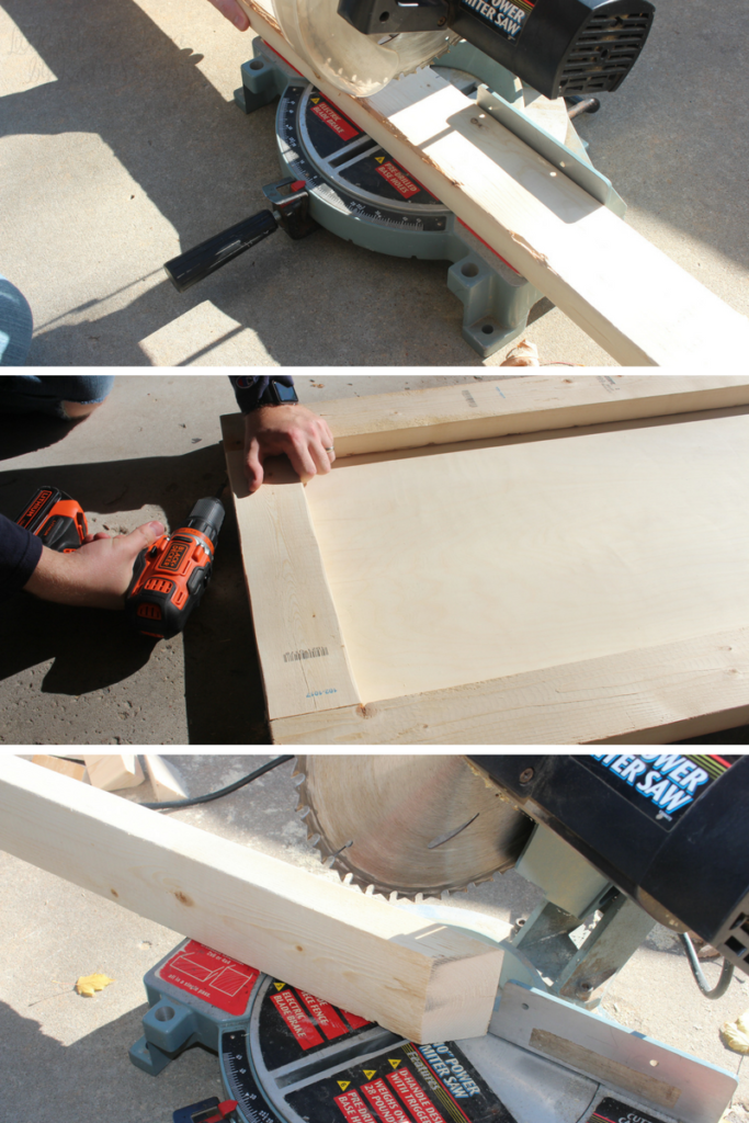 Building a race day wooden ramp for kids #RaceDayRelief #ad