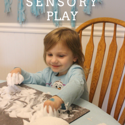 Disney Frozen Themed Sensory Play