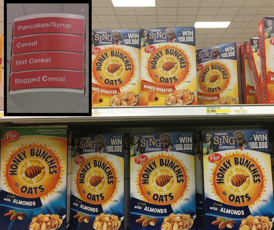 Find Honey Bunches of Oats® at Target #Postfortheholidays #ad
