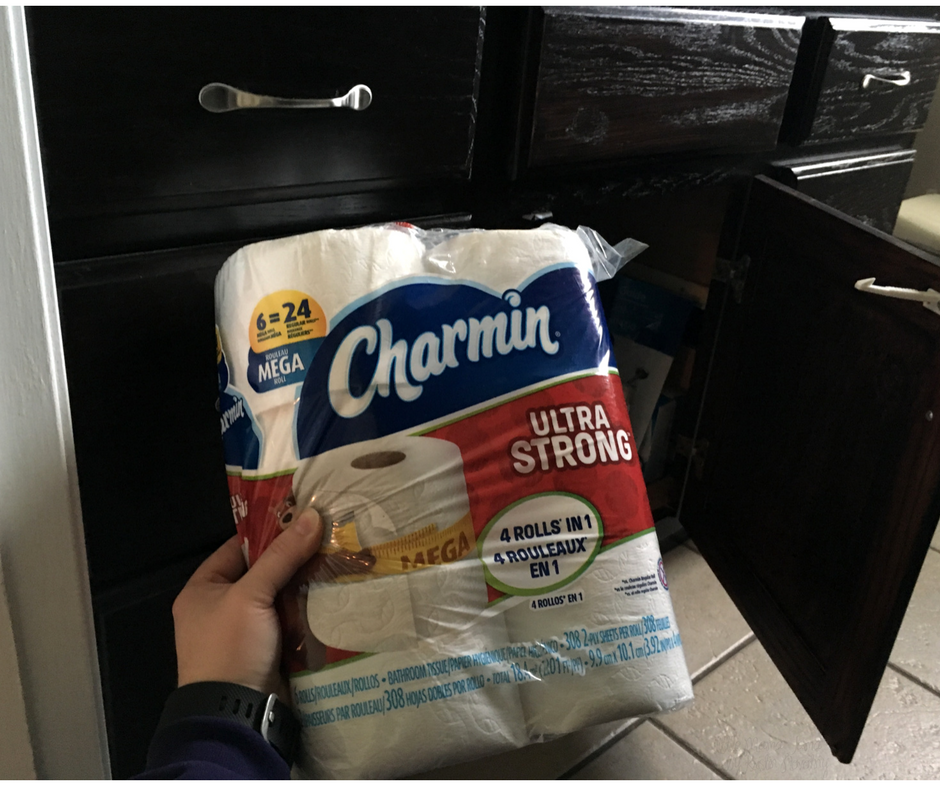 Stock bathrooms with Charmin Mega Roll to save yourself time! #EnjoyTheGo #ad