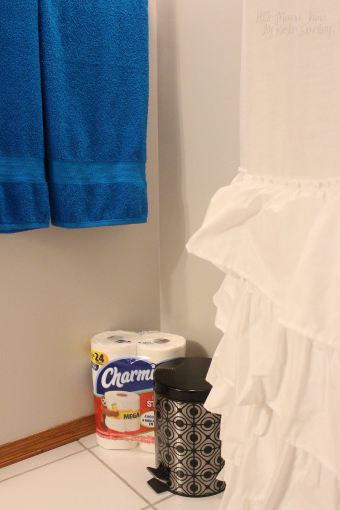 How to create a bathroom sanctuary and brighten your space #EnjoyTheGo #ad