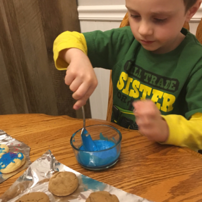 Cookie Decorating with the Kids