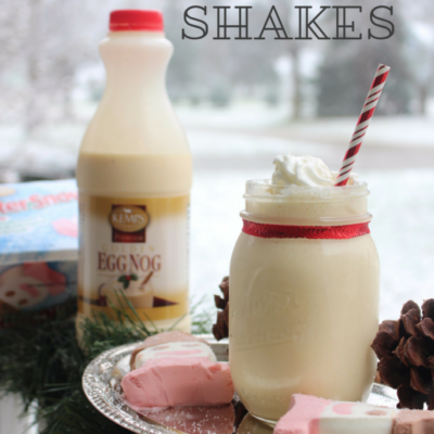 Eggnog Shakes and Holiday Nostalgia