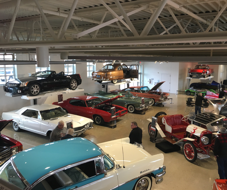 Cars at The Automobile Gallery in Green Bay