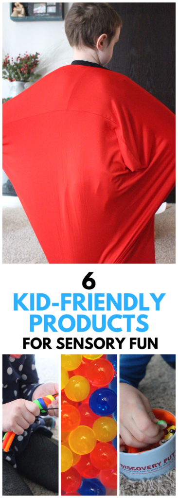 6 Kid-Friendly Products for Sensory Fun! #ad
