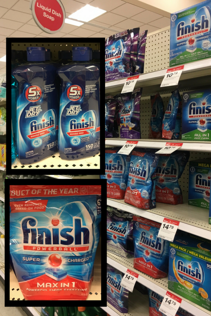 Purchase Finish at Target and find a great deal on Cartwheel #EverydaySaves #ad