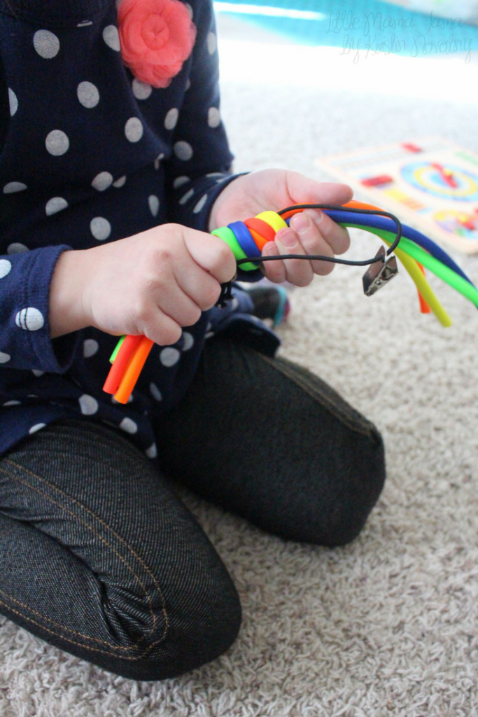 6 Kid-Friendly Products for Sensory Fun - like the Spaghetti Chewy Fidget! #ad