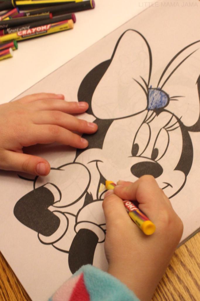 How to host an easy, no-stress Disney Preschooler Playdate! #DisneyKids #ad