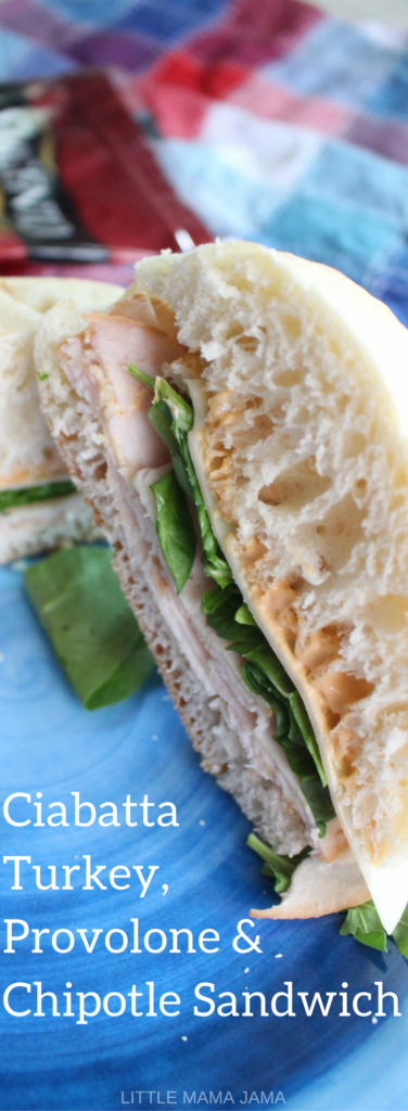 Ciabatta Turkey, Provolone & Chipotle Sandwich - for when you're busy, but want to feel gourmet. #SargentoAtMeijer #IC #ad