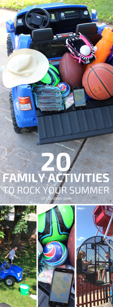 Enjoy these 20 family activities to rock your summer! #SummerIsForSavings [ad]